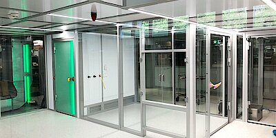 Cleanroom for circuit board production, ISO 5