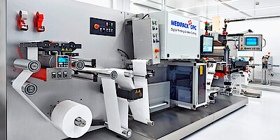 Cleanroom for medical packaging, ISO 8