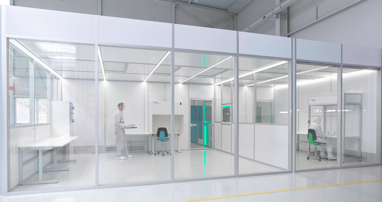 Cleanroom CleanCell 4.0, ISO 7