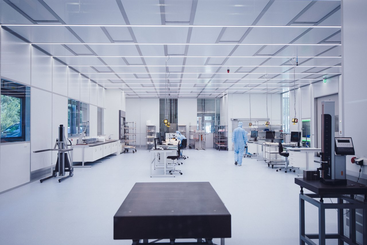 Cleanroom for semiconductor manufacturing, ISO 6