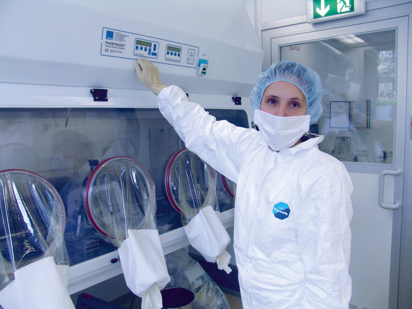 Cleanroom for stem cell laboratory, GMP A in B