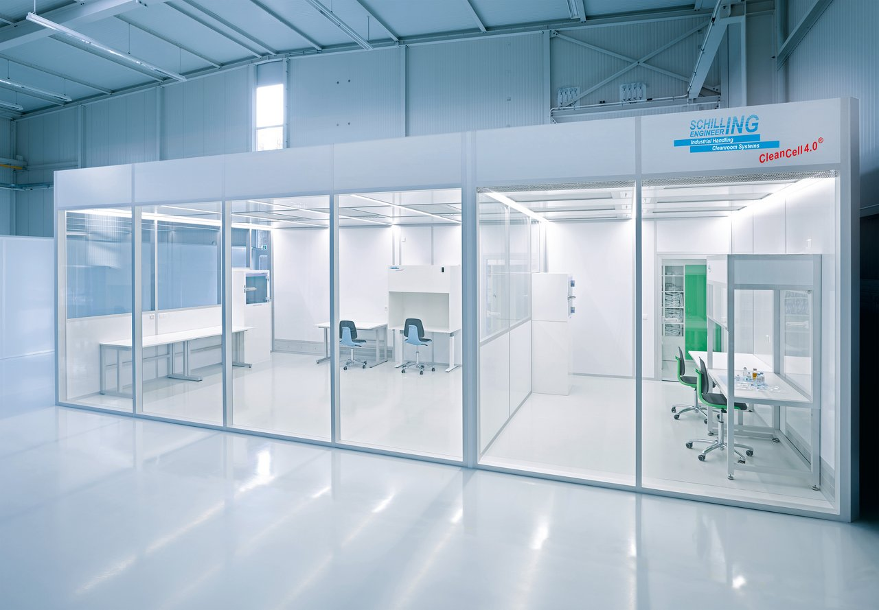 Cleanroom Clean SteriCell, GMP B
