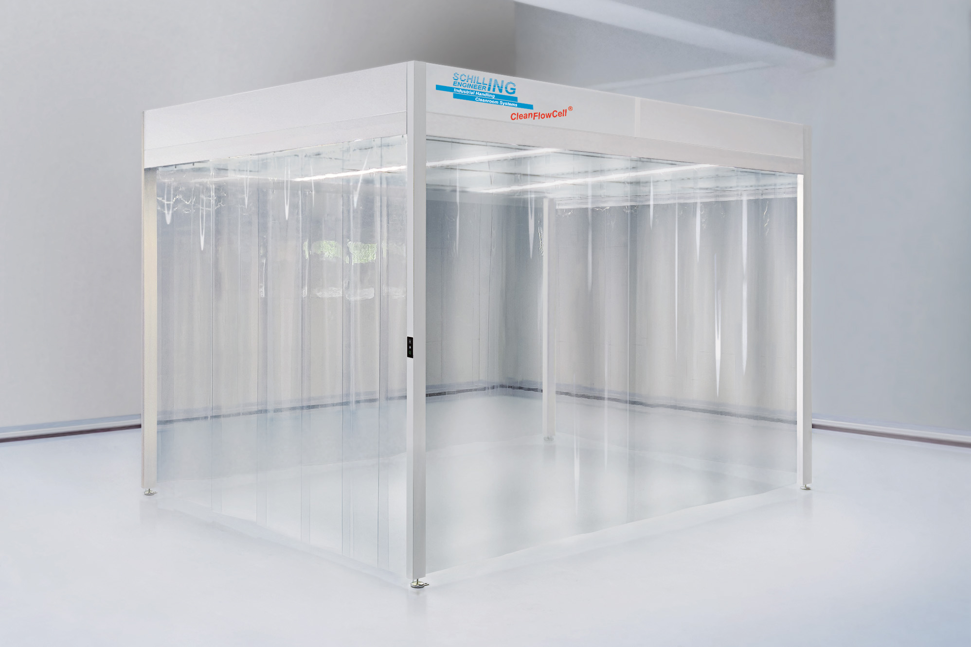 Cleanroom isolation tent for NIV ventilation, ISO 7