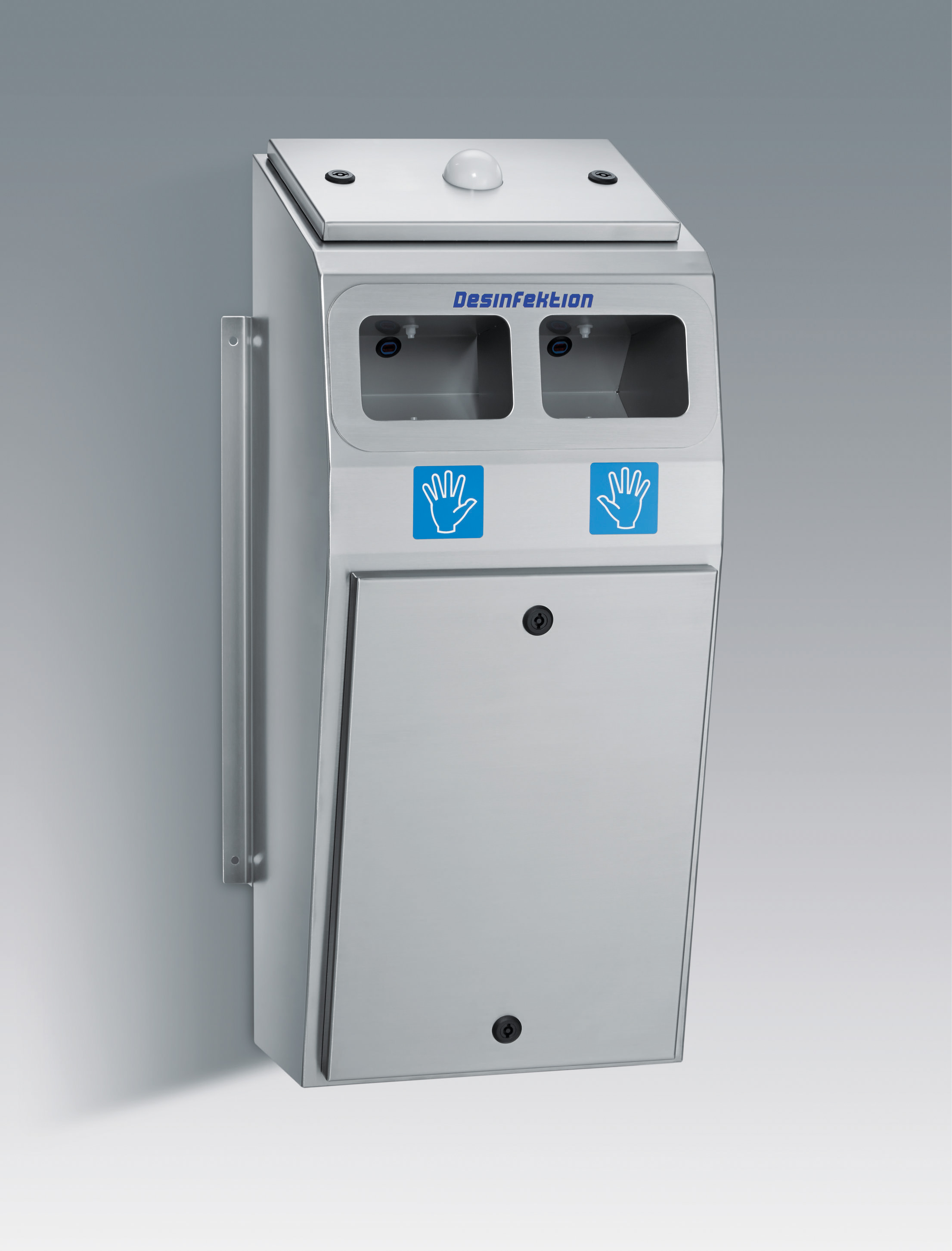 Cleanroom hand disinfection machine, stainless steel