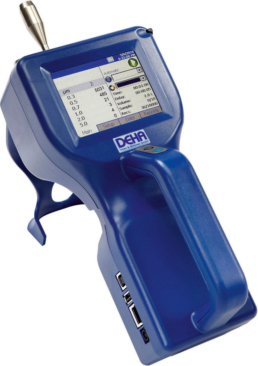 Cleanroom particle counter hand-held TSI 9306